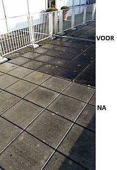 Terrasreiniging Schoonmaak en glazenwasserij JH Heiligerlee