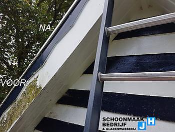 Foto's van ons werk Schoonmaak en glazenwasserij JH Heiligerlee
